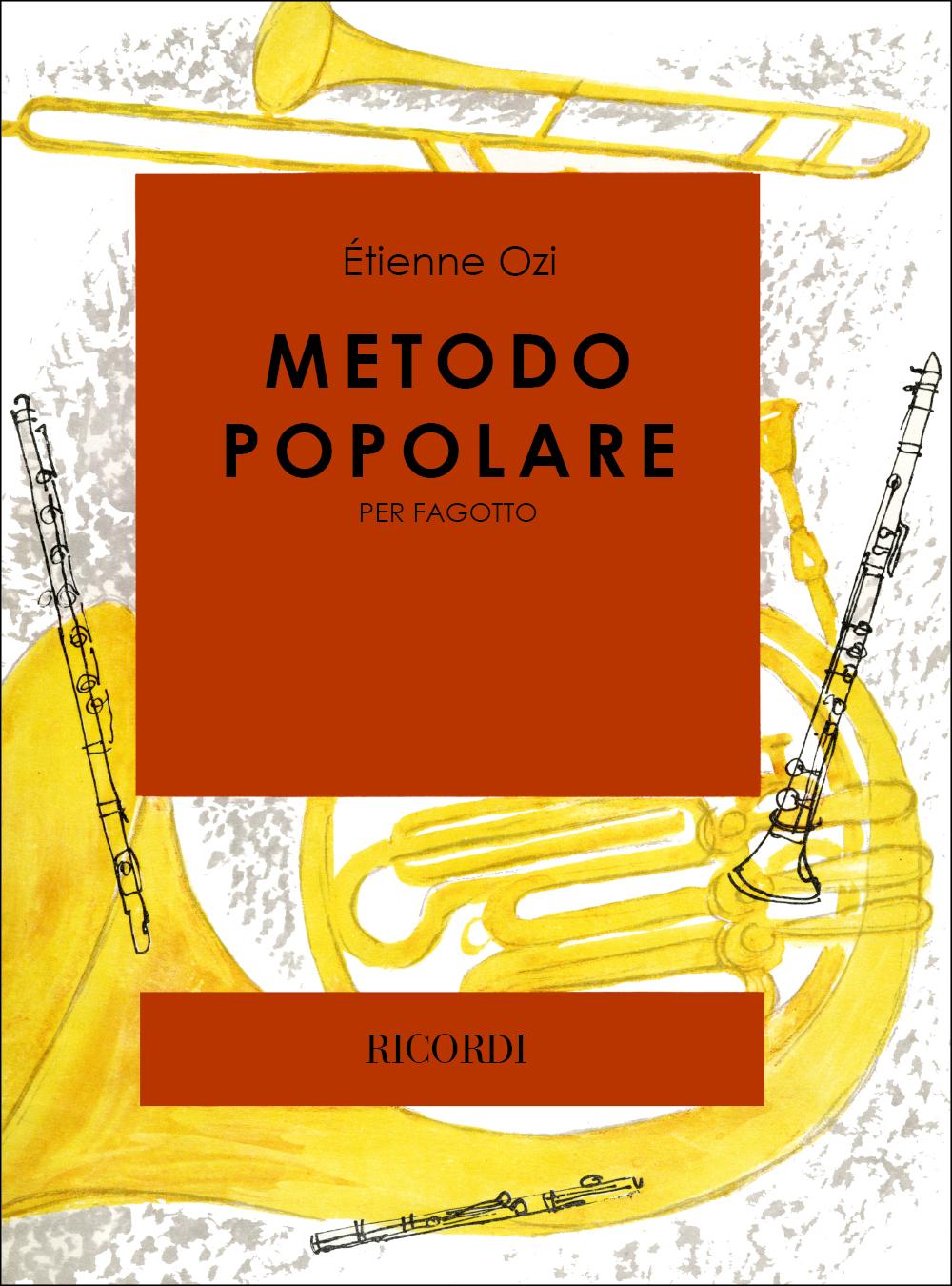 Etienne Ozi: Metodo Popolare: Bassoon