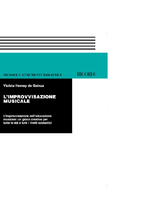 Violeta Gainza: Improvvisazione Musicale