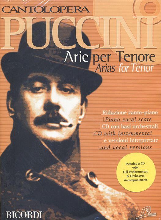 Giacomo Puccini: Cantolopera: Puccini Arie per Tenore 1: Opera: Vocal Album