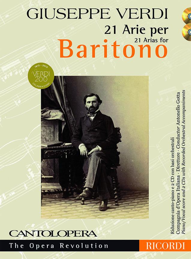 Giuseppe Verdi: Cantolopera: Verdi - 21 Arie per Baritono: Opera