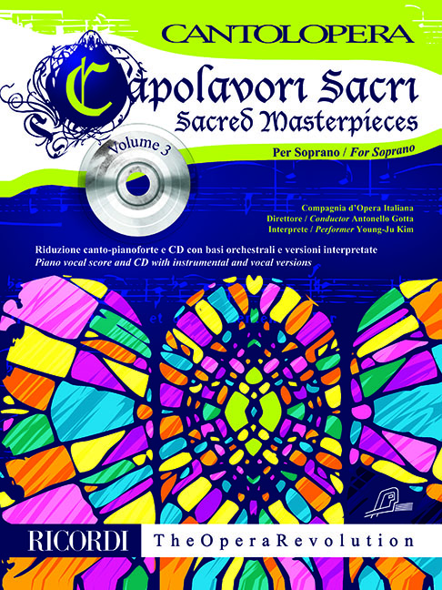 Cantolopera: Capolavori Sacri per Soprano: Soprano: Vocal Work