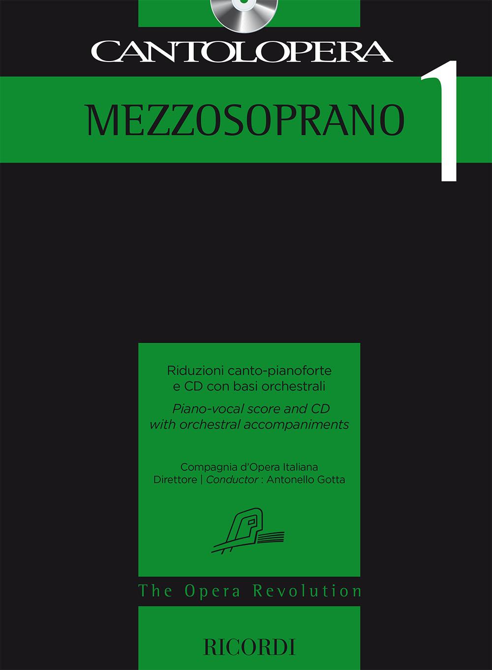 Cantolopera 1: mezzosoprano: Mezzo-Soprano: Vocal Score