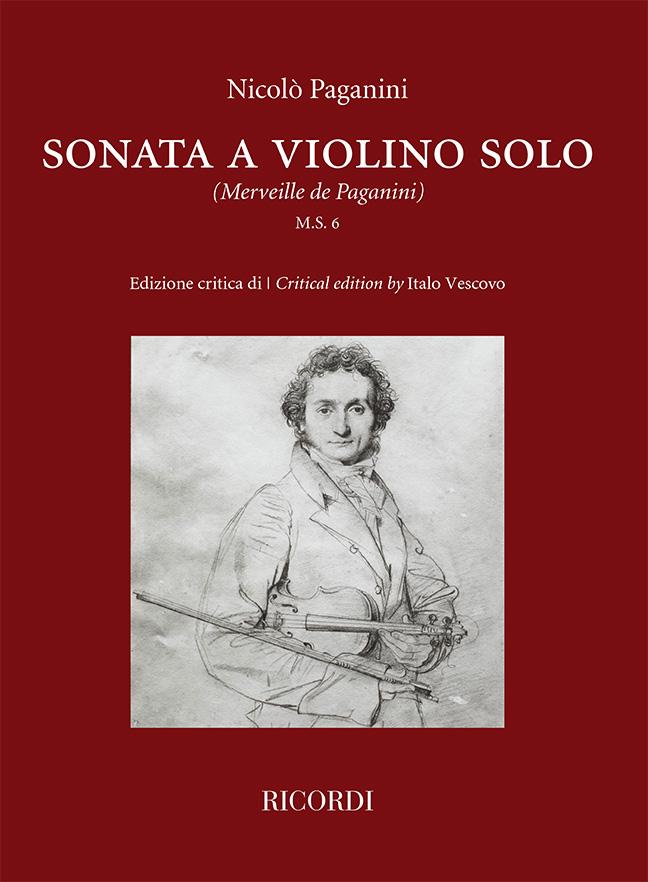 Niccolò Paganini: Sonata a violino solo: Violin