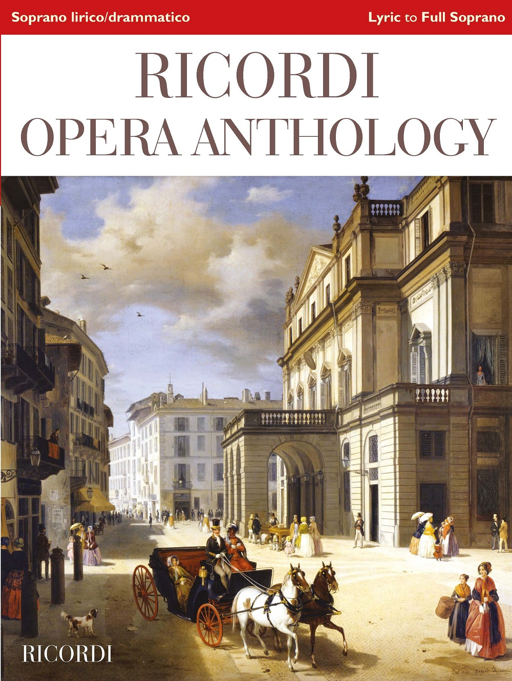 Ricordi Opera Anthology: High Voice and Piano: Vocal Collection