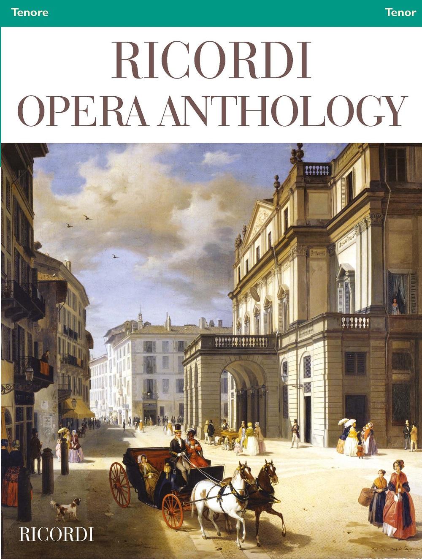 Ricordi Opera Anthology: Tenor: Vocal Collection