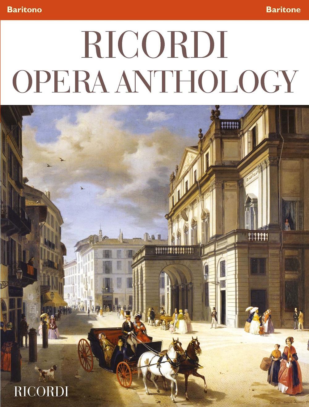Ricordi Opera Anthology: Baritone: Vocal Collection