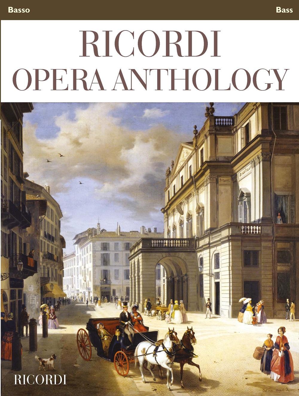 Ricordi Opera Anthology: Bass: Vocal Collection