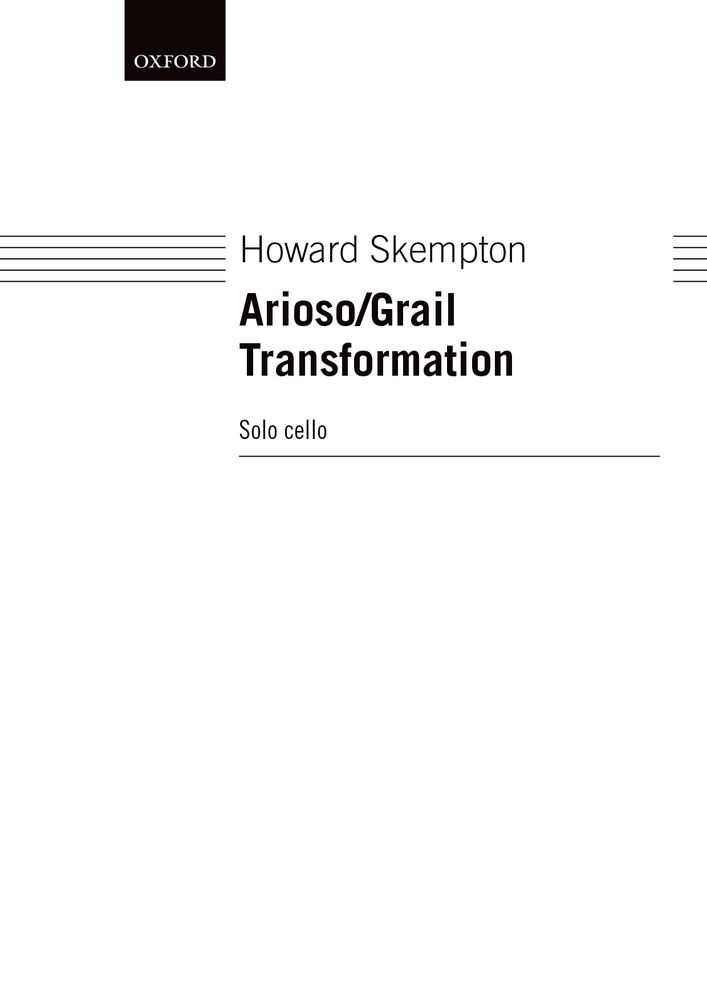 Howard Skempton: Arioso/Grail Transformation: Cello: Instrumental Work