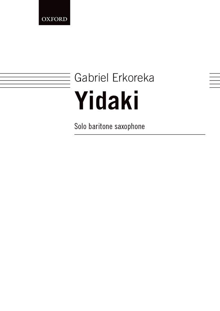 Gabriel Erkoreka: Yidaki: Saxophone: Instrumental Work