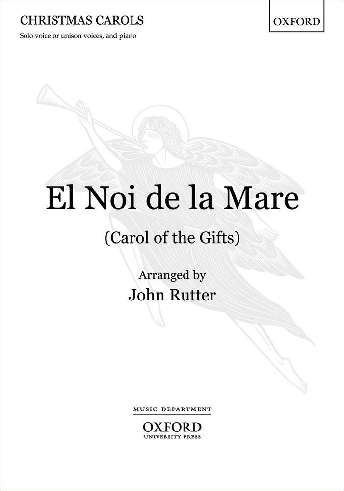 John Rutter: El Noi De La Mare: Mixed Choir: Vocal Score