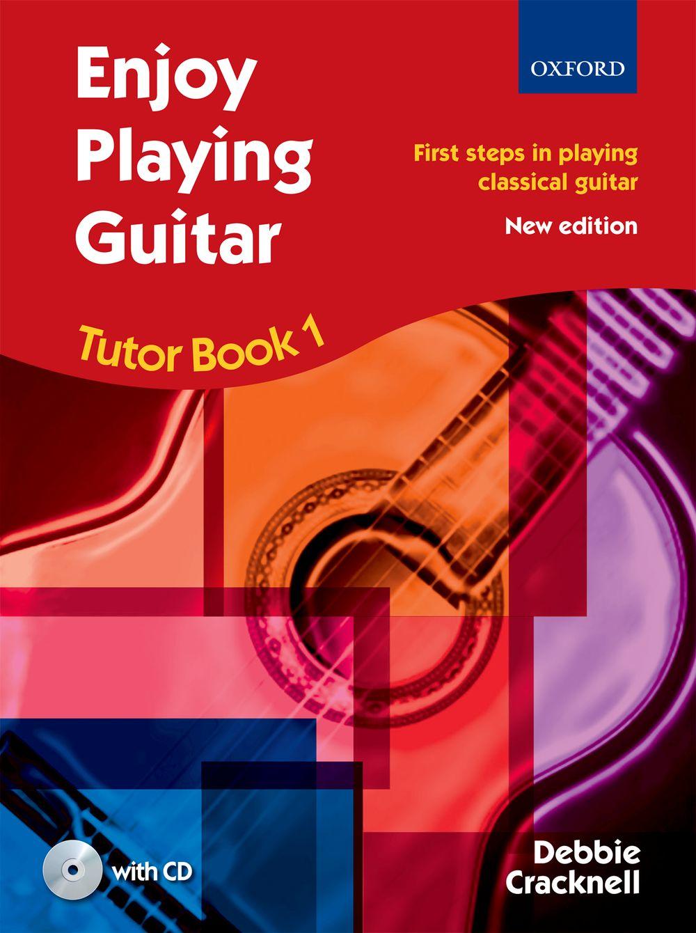 Cracknell: Enjoy Playing Guitar Tutor Book 1: Guitar: Instrumental Tutor
