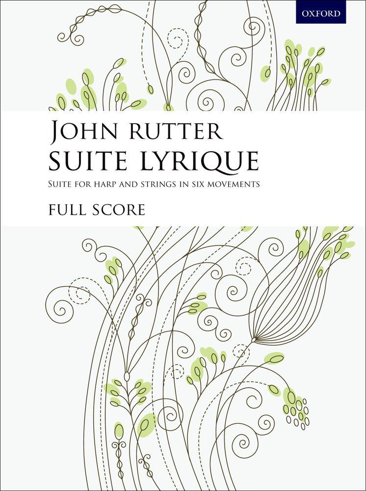 John Rutter: Suite Lyrique: Harp: Study Score