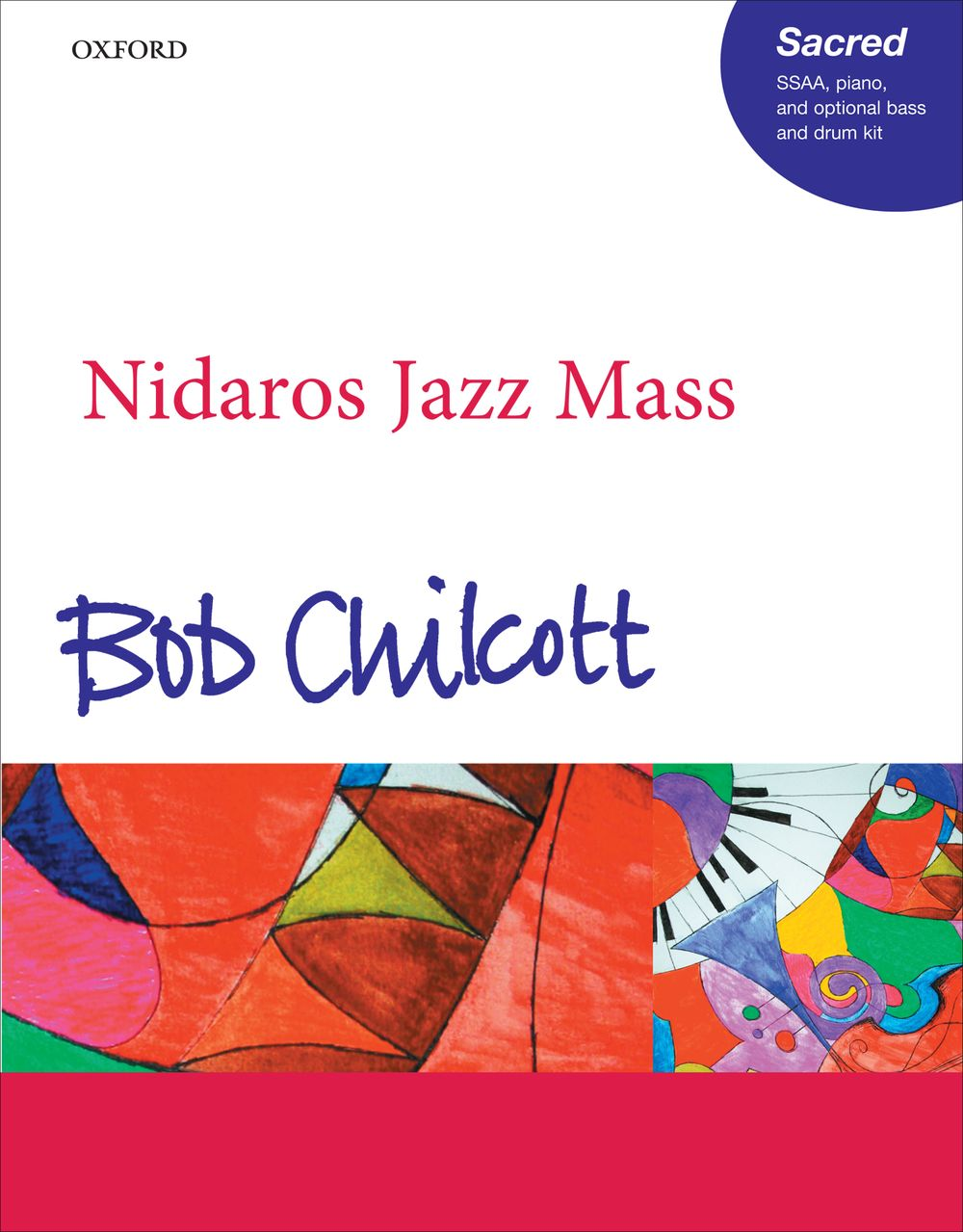 Bob Chilcott: Nidaros Jazz Mass: SSAA: Vocal Score