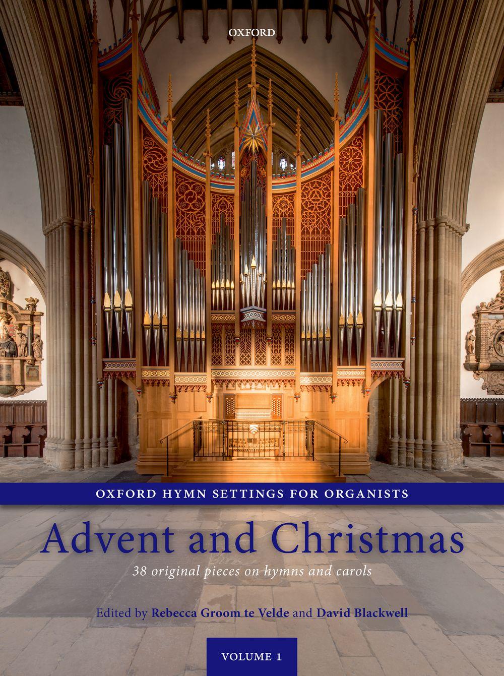 Rebecca Groom te Velde David Blackwell: Hymn Settings for Organists: Advent and