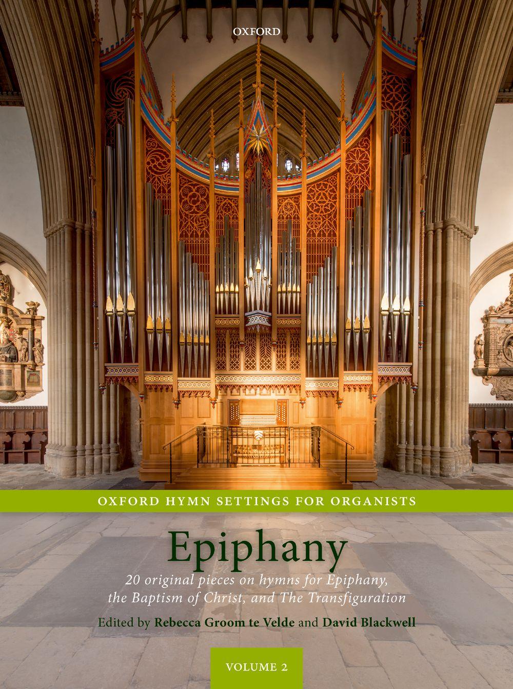 Rebecca Groom te Velde David Blackwell: Oxford Hymn Settings for Organists: