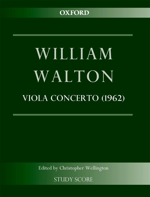 William Walton: Concerto For Viola And Orchestra: Viola: Study Score