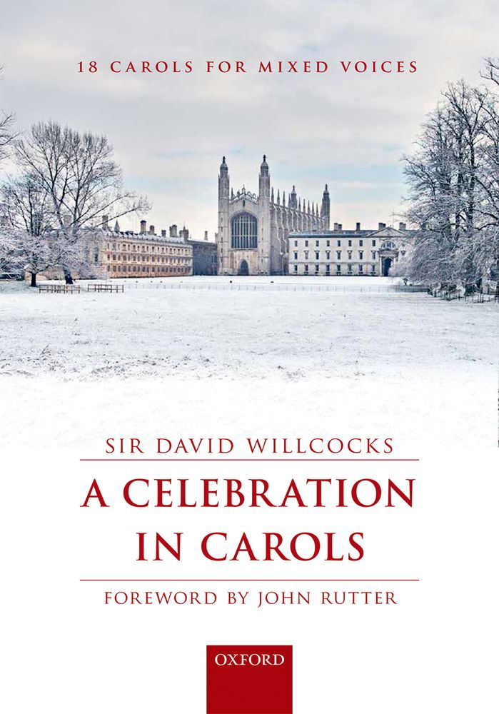 David Willcocks: A Celebration in Carols: SATB: Vocal Score