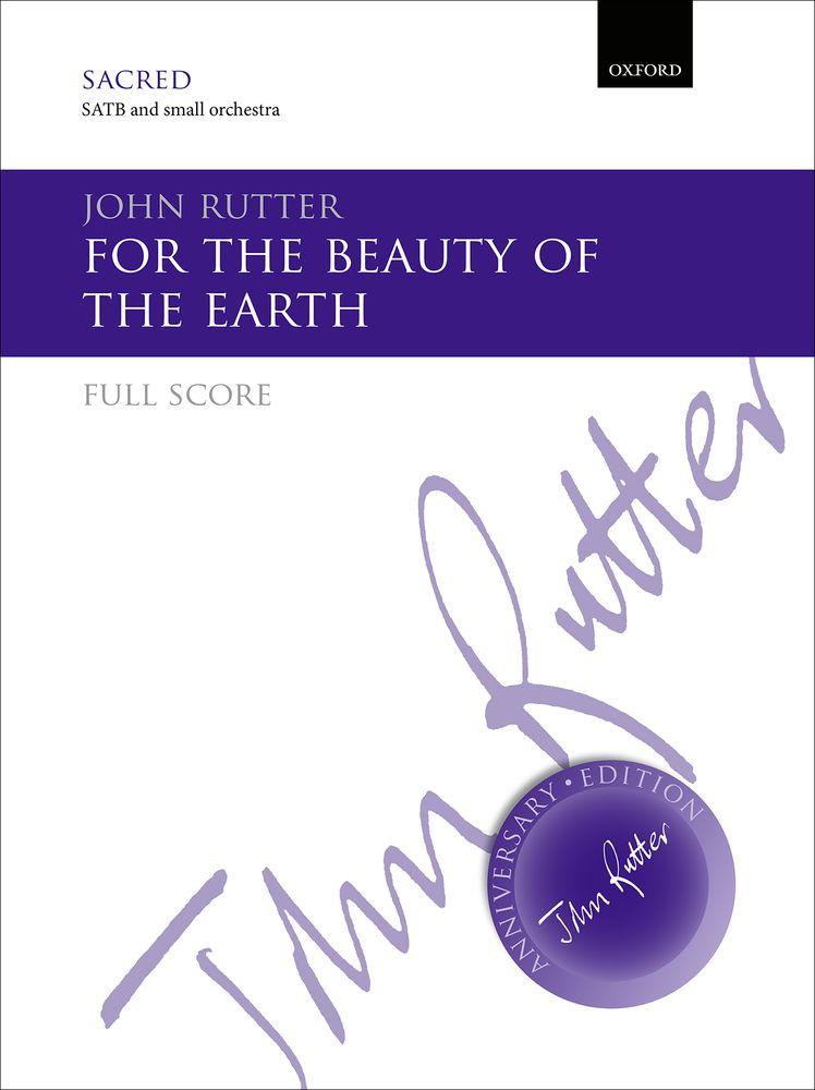 John Rutter: For The Beauty Of The Earth: Mixed Choir: Score