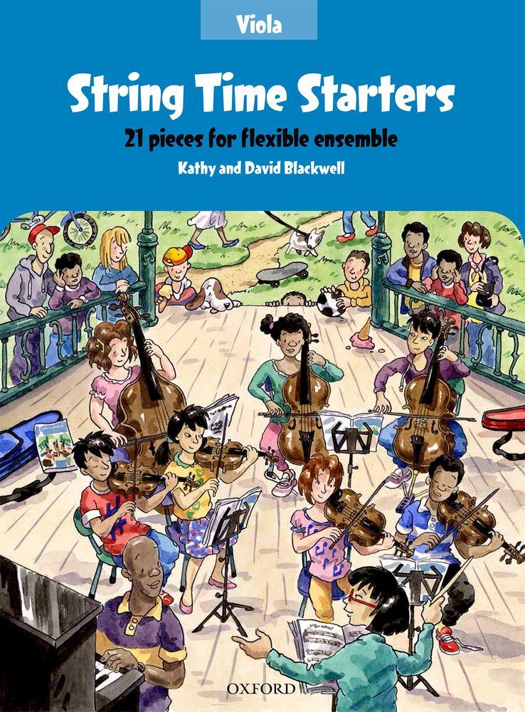 Kathy Blackwell David Blackwell: String Time Starters Viola Book: Viola: