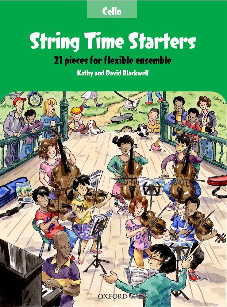 Kathy Blackwell: String Time Starters Cello Book: Cello: Instrumental Album