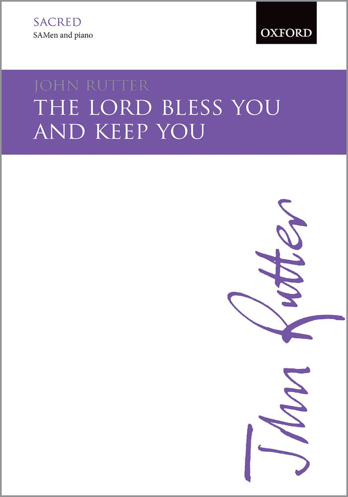 John Rutter: The Lord Bless You And Keep You: SAB: Vocal Score