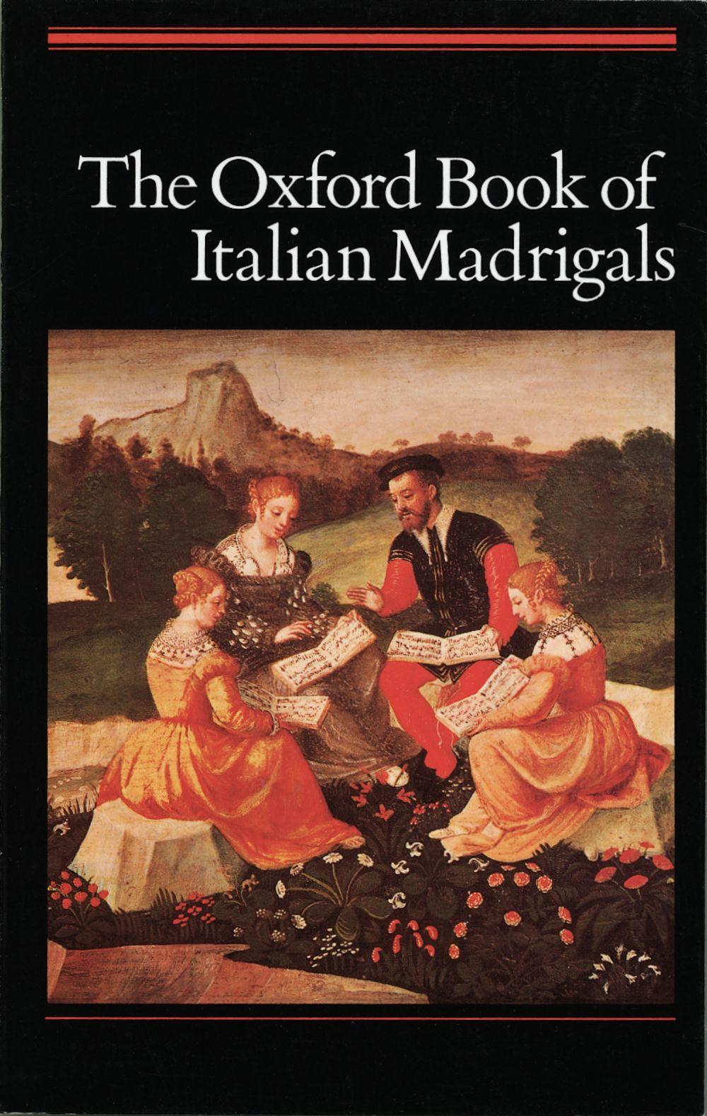 Alec Harman: The Oxford Book of Italian Madrigals: SATB: Vocal Score