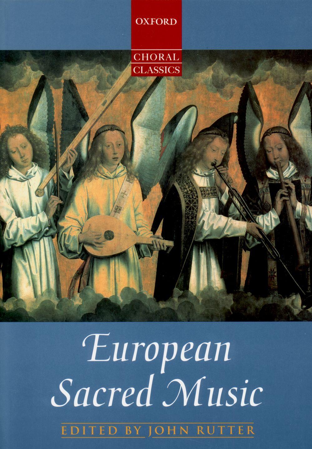 John Rutter: European Sacred Music: SATB: Vocal Score