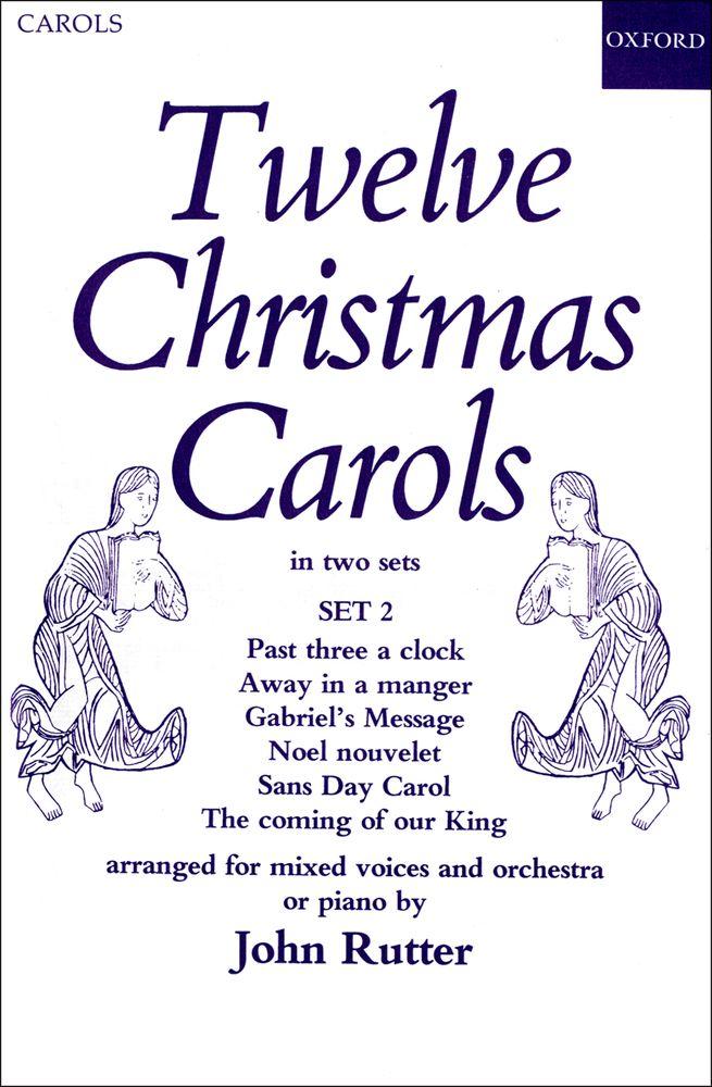John Rutter: Christmas Carols(12) 2: Mixed Choir: Vocal Score