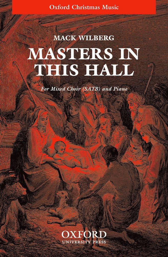 Mack Wilberg: Masters In This Hall: Mixed Choir: Vocal Score