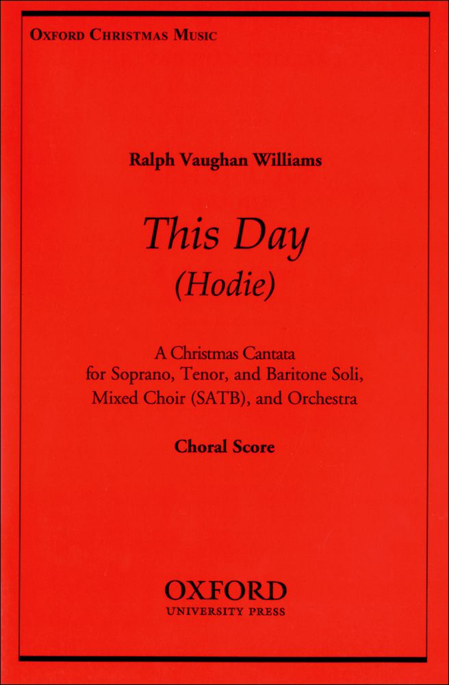 Ralph Vaughan Williams: Hodie: Mixed Choir: Vocal Score