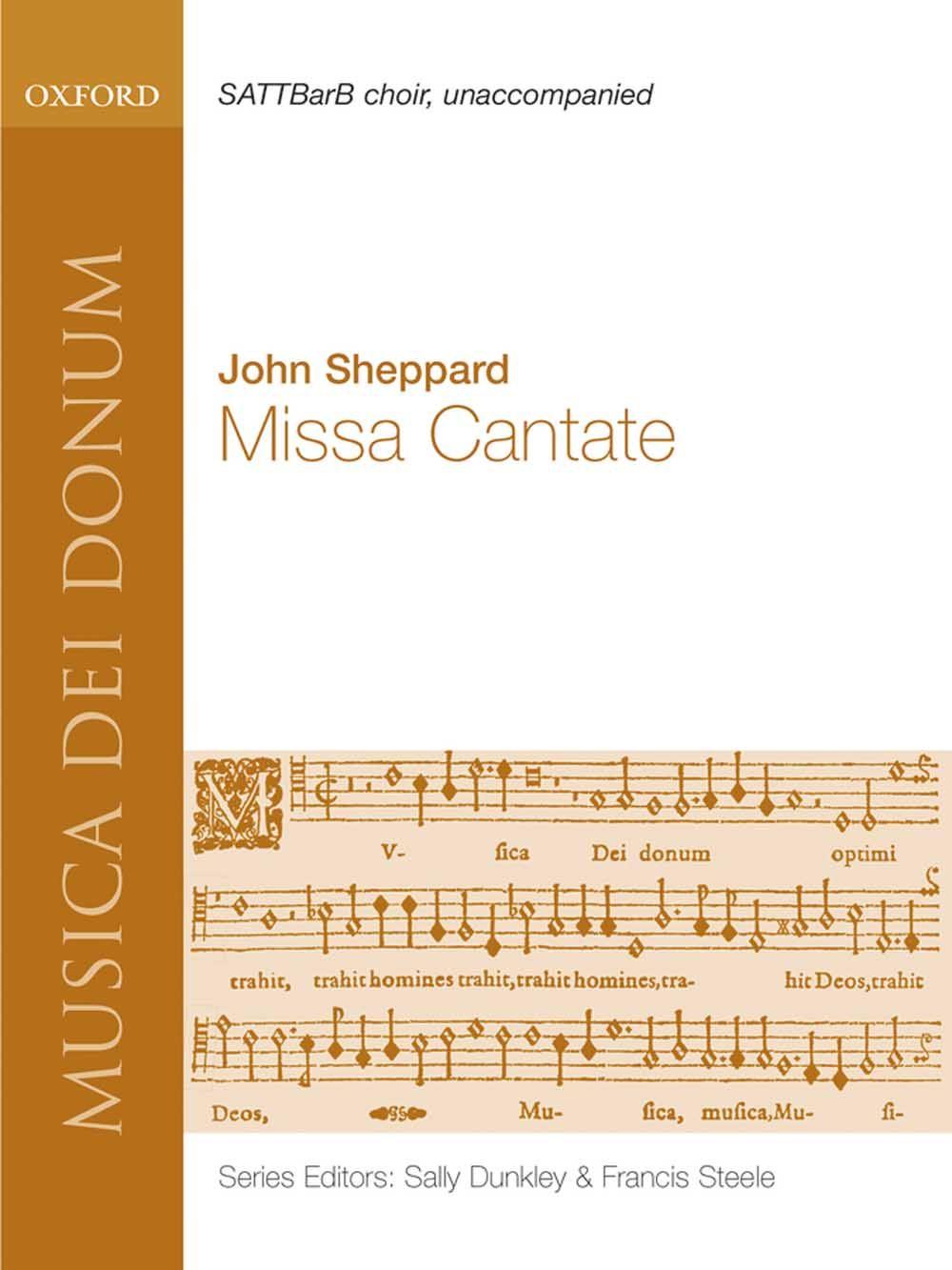 John Sheppard: Missa Cantate: Mixed Choir: Vocal Score
