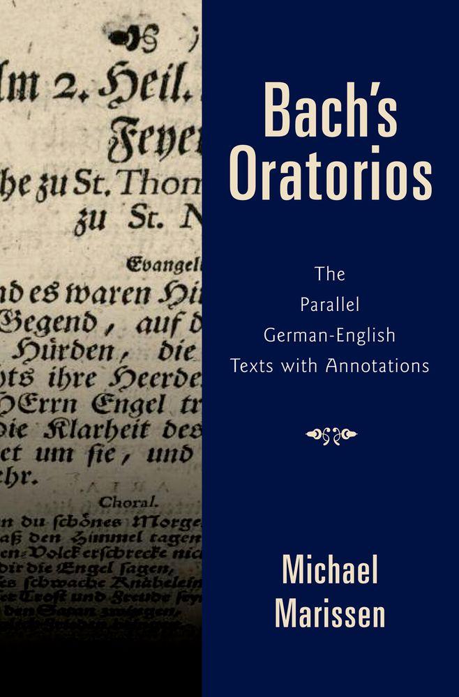 Michael Marissen: Bach's Oratorios: Reference