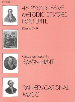 Anton Bernhard Fürstenau Ernesto Köhler: 45 Progressive Melodic Studies: Flute: