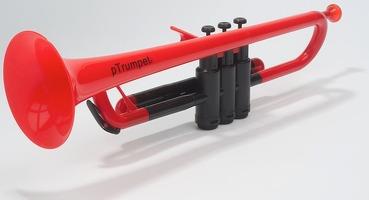 Ptrumpet Plastic Trumpet Red: Trumpet