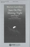 Morten Lauridsen: Sure on this shining Night: SSAA: Vocal Score
