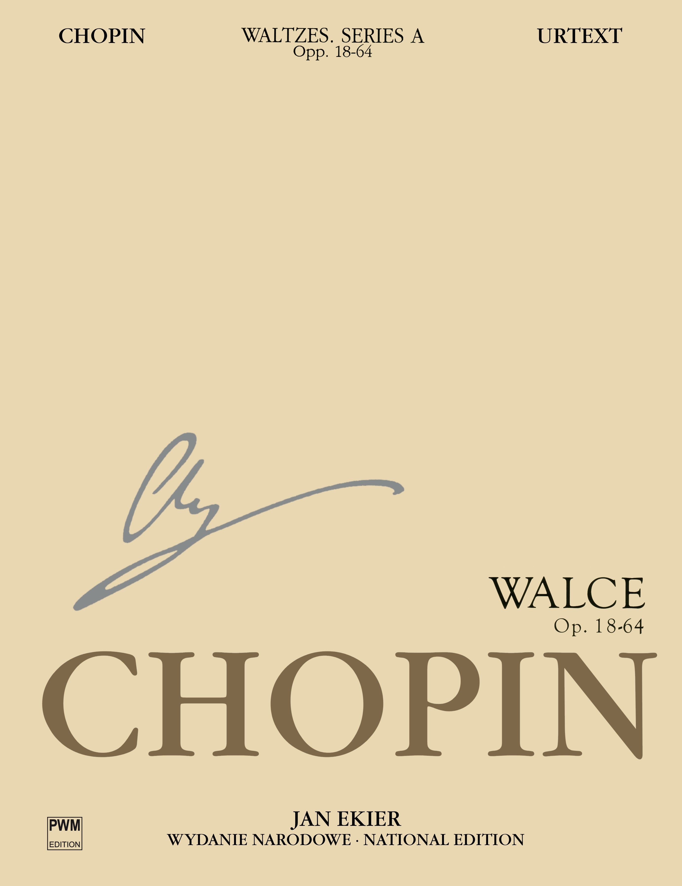Frédéric Chopin: National Edition: Waltzes Op. 18  34  42  64: Piano: