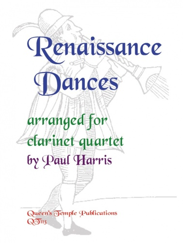 Renaissance Duets: Clarinet Ensemble: Score and Parts