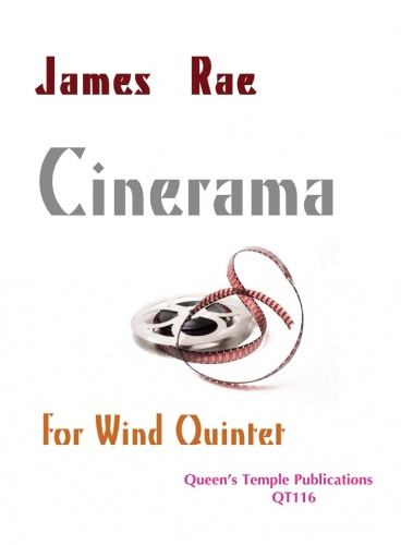 J Rea: Cinerama: Wind Ensemble: Score and Parts