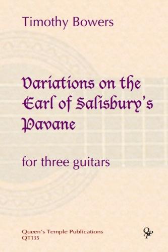 Timothy Bowers: Variations On The Earl Of Salisbury's Pavane: Guitar Ensemble: