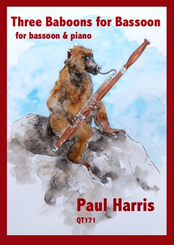 Paul Harris: Three Babboons For Bassoon: Bassoon: Instrumental Album