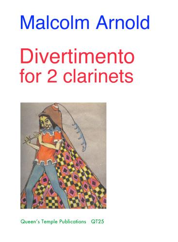 M. Arnold: Divertimento Op. 135: Clarinet Duet: Instrumental Album
