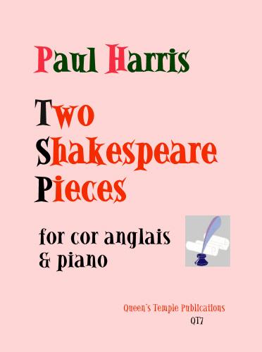 P. Haris: 2 Shakespeare Pieces: Piano: Instrumental Album
