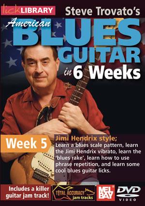 Jimi Hendrix: American Blues In 6 Weeks - Week 5: Guitar: Instrumental Tutor