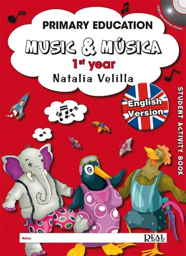 Natalia Velilla: Music & Música Volumen 1 (Student Activity Book): Theory