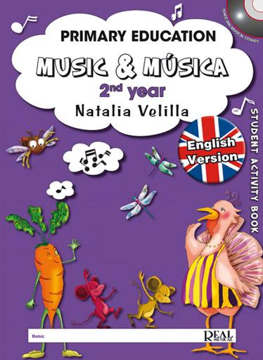 Natalia Velilla: Music & Música Volumen 2 (Student Activity Book): Theory