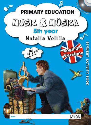 Natalia Velilla: Music & Música Volumen 5 (Student Activity Book): Theory