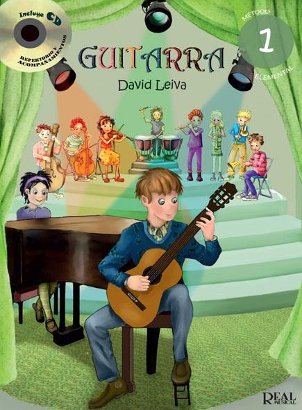 Leiva David Coleccion Primeros Pasos Guitarra 1 Guitar Book/Cd