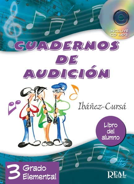 Ibáñez-Cursá: Cuadernos De Audición Vol. 3: Alumno: Theory