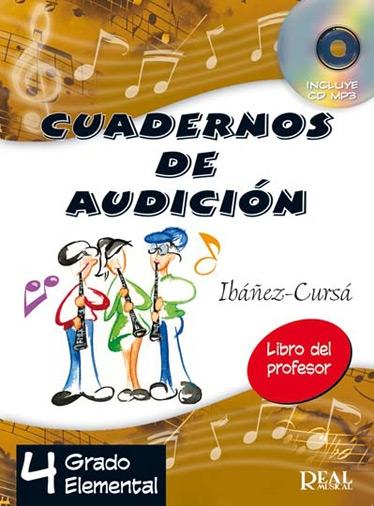 Ibáñez-Cursá: Cuadernos De Audición Vol. 4: Profesor: Theory