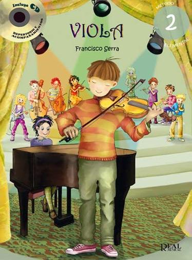 Francisco Serra: First Steps - Viola - Vol. 2: Viola: Instrumental Album